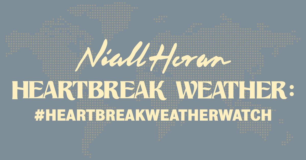 Niall Horan Heartbreak Weather Watch